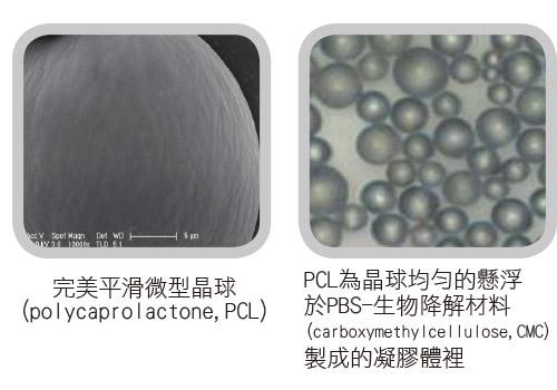 PCL微型晶球刺激自體膠原蛋白再生
